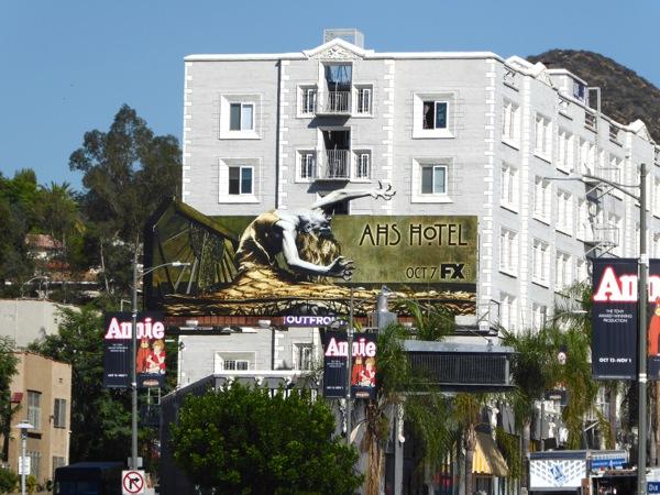 Special AHS Hotel billboard