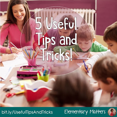 Five Useful Tips and Tricks! These five tips are things that many teachers figured out for themselves, but now there's scientific evidence to back it up!