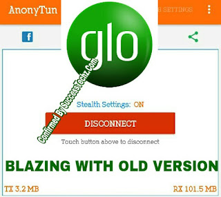 How to Fixed Glo Unlimited Free Browsing Not Working On AnonyTun VPN