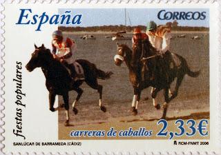CARRERAS DE CABALLOS, SANLÚCAR DE BARRAMEDA, CÁDIZ