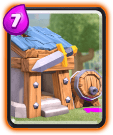 Carta da Cabana de Bárbaros do Clash Royale