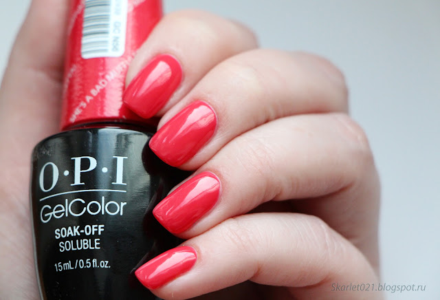 OPI gelcolor collection New Orleans весна 2016