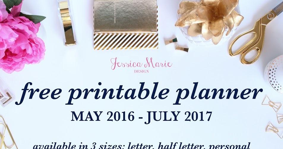 ... Marie Design Blog: Free 2016-2017 Printable Planner! (offer expired