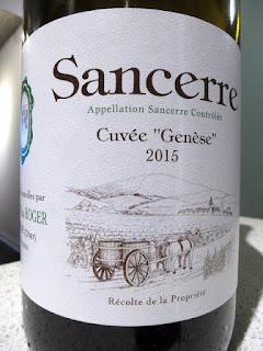 Jean-Max Roger Cuvée Genèse Sancerre 2015 (91 pts)