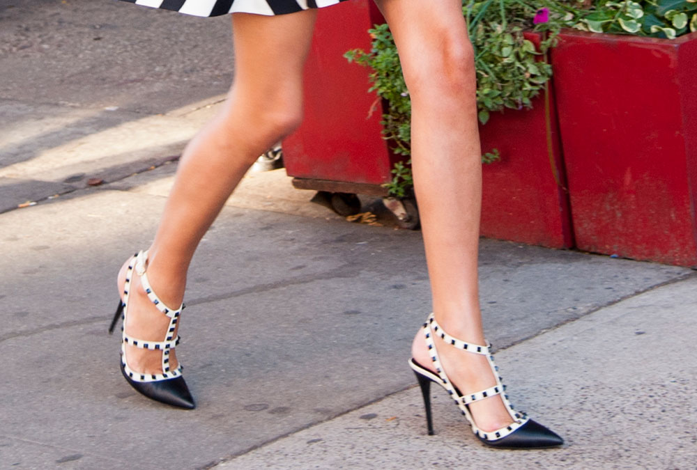 Como Llevar Zapatos Blanco Y Negro Black And White Shoes