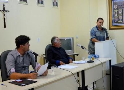 Vereador Ivandelson retoma atividades na Câmara Municipal de Zabelê