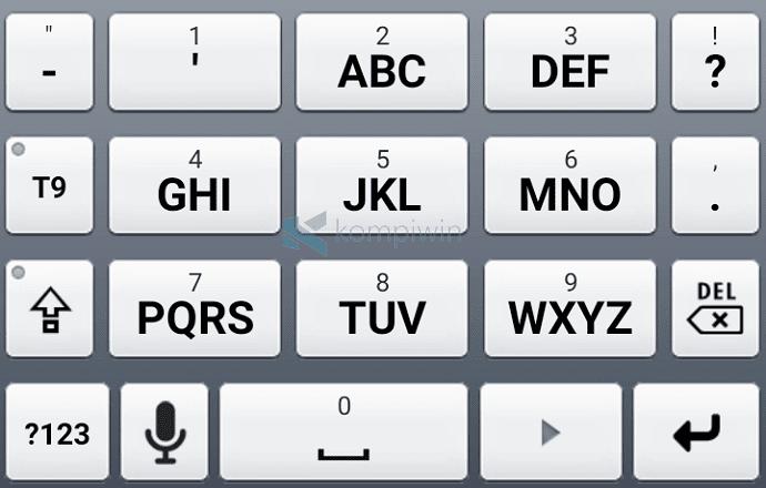 abc keyboard seperti nokia di android