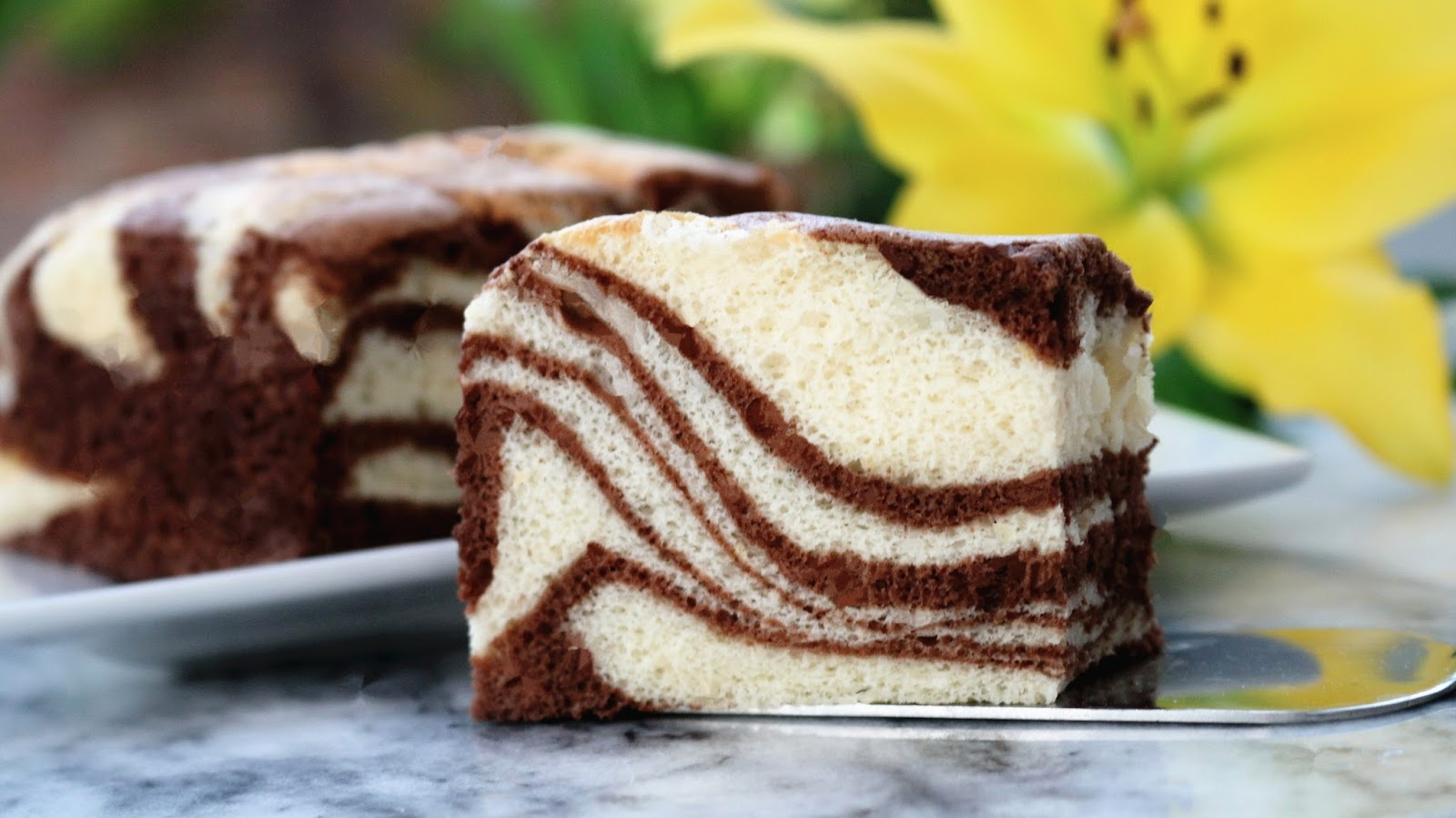 Baking Made Easy Zebra Cake