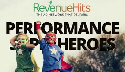 RevenueHits.com Review 2017, cpm rate