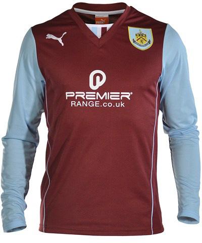 Burnley 13-14 (2013-14) Home Kit Released - Footy Headlines