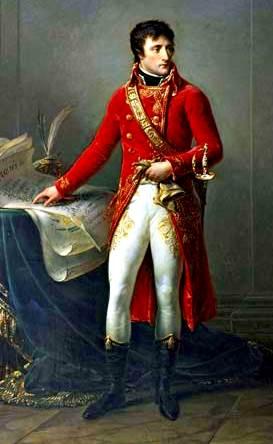 Primer Cónsul Bonaparte, óleo sobre lienzo de Antoine-Jean Gros, c. 1802