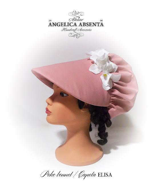 Poke bonnet Elisa / Capota Elisa