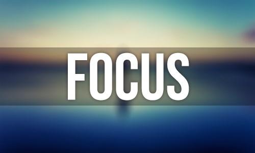 Tidak fokus pada hal yang ingin digapai