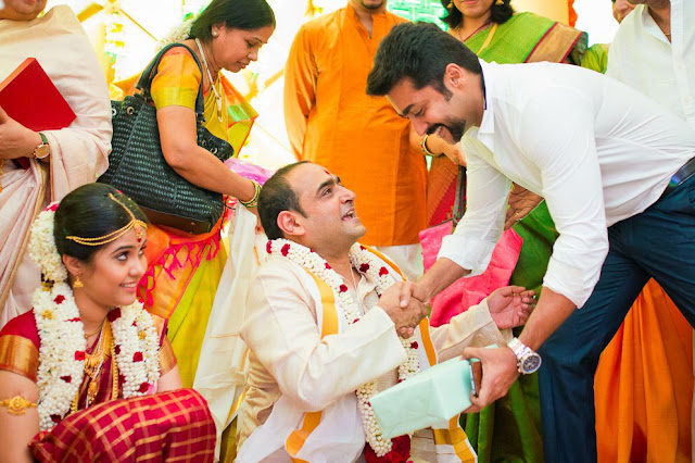 Actor surya Attended Director Vikram Kumar Wedding Photos