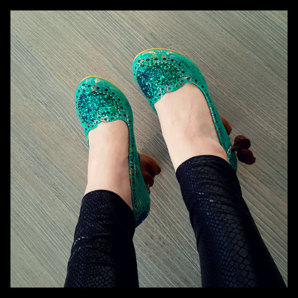 wearing irregular choice green nibbles mcnutty