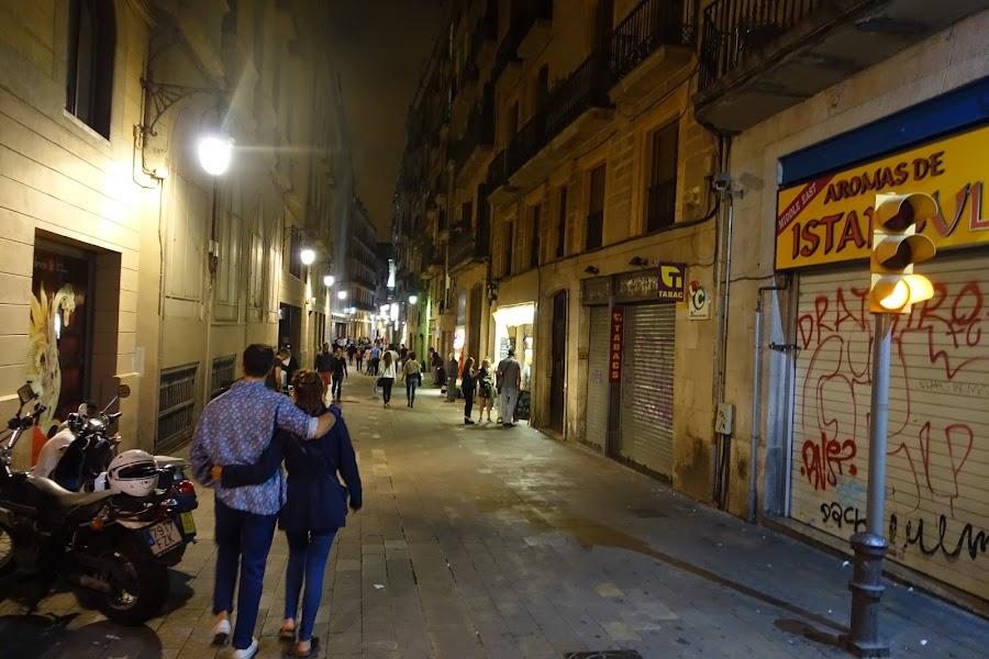 サム・パウ通り(Carrer de Sant Pau)