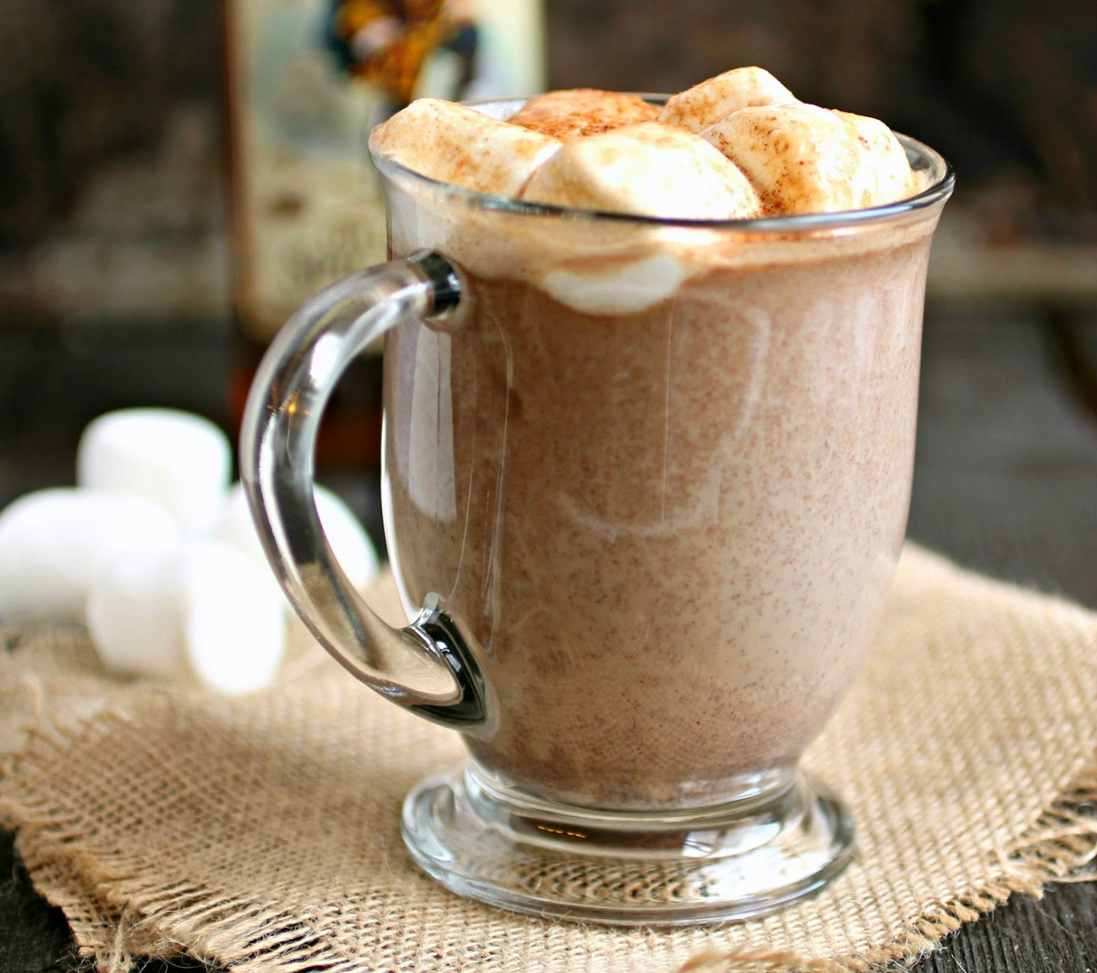 Sweet, Spiked and Spicy Hot Chocolate