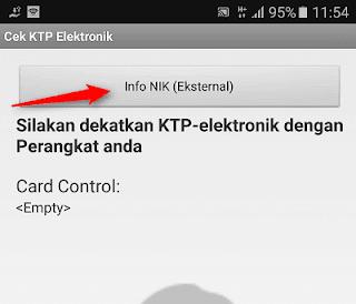 cara cek data e-ktp menggunakan android
