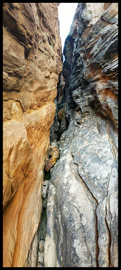 razy scary Slot Canyon used to Capture Prey for Native Indians