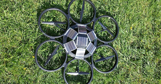Solar Powered Drone Technology