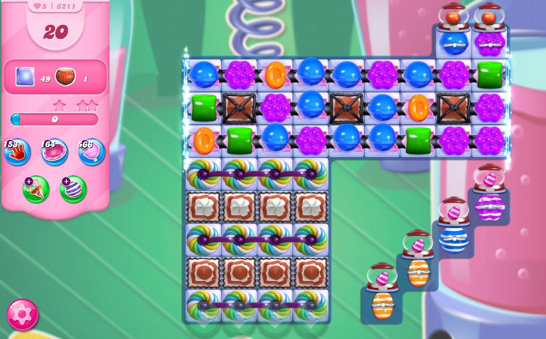 Candy Crush Saga level 6211