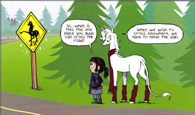 Dana Simpson's 'Unicorn Crossing': The Fairy Blog Review