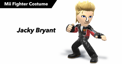 Jacky Bryant Virtua Fighter Mii Super Smash Bros.
