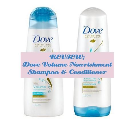 Dove Volume Nourishment Shampoo & Conditioner