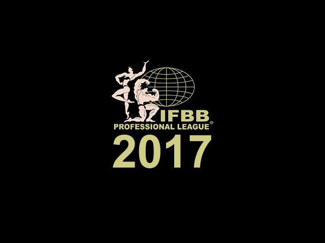 Calendário de competições 2017 da IFBB Pro. Foto: Divulgação