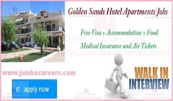Latest Walk In Interview Hotel Jobs in Dubai, HOtel jobs in Dubai with accommodation,