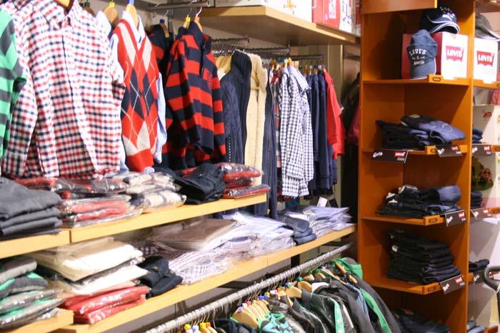 Một shop kinh doanh quần áo trẻ em với chất liệu tốt