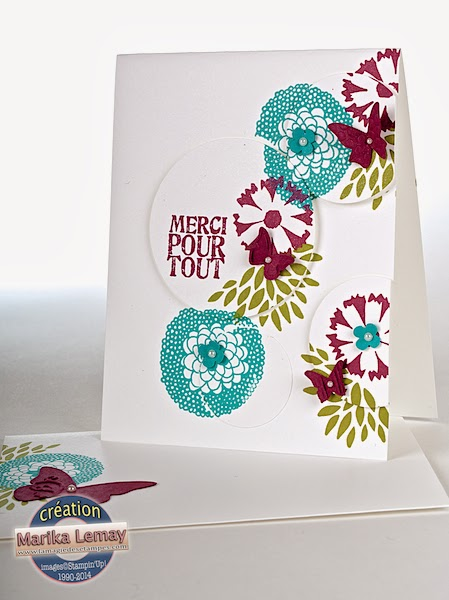 petal parade Stampin' Up!