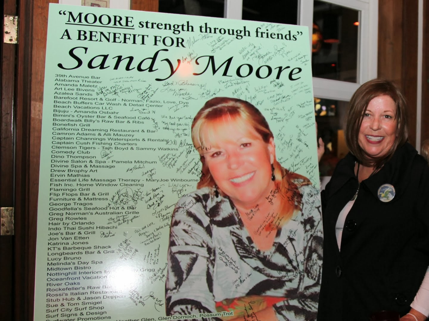 2014 Sea Turtle Nesting Season Dedicated to Sandy Moore and her fight to regain her health