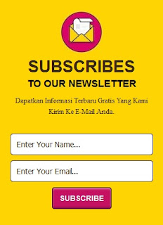Responsive Subscribe Box style 1