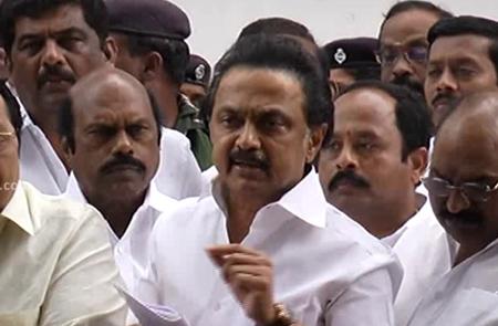 M K Stalin Speech TN Assembly – 10.01.2018 | DMK | Press Meet