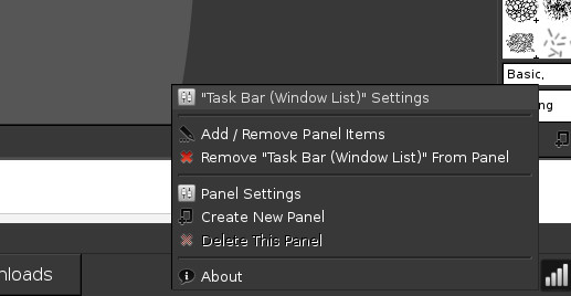 How to change LXDE task bar / window list into Smooth task/Dockbarx/Win7 style on Archlinux