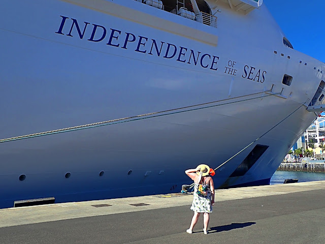 Independence of the Seas leaving the UK Body Positive Travel Blogger