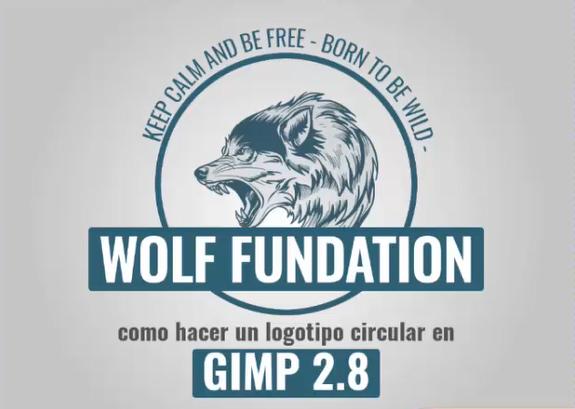 COMO CREAR UN LOGOTIPO BASICO EN GIMP 2.8