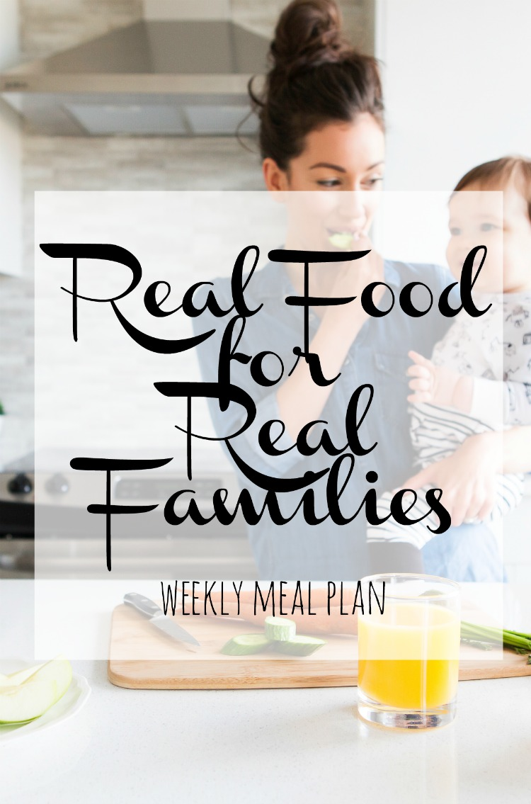 Weekly Family Meal Plan 2017 Week 25
