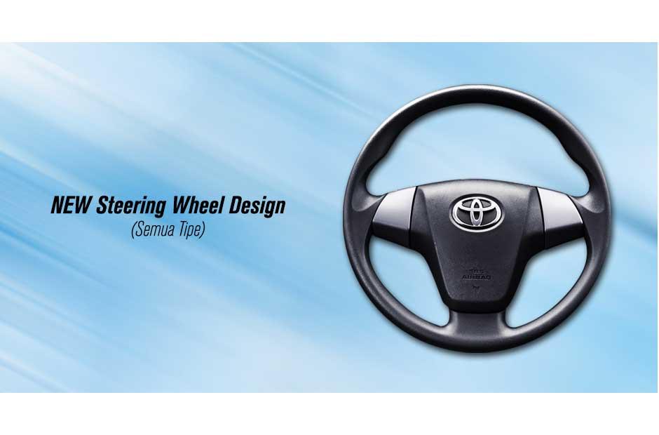 Indikator Grand New Avanza Sarung Jok Interior Toyota 2015 Astra Indonesia Desain Pada Kemudi Menggunakan Model Baru Sehingga Kesan Lebih Agresif Ini Juga Terdapat Di Semua Tipe