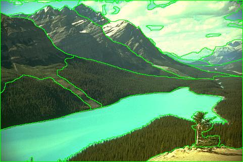 Segmentation Using Canny+Watershed in Opencv-python ~ Learn Delta X