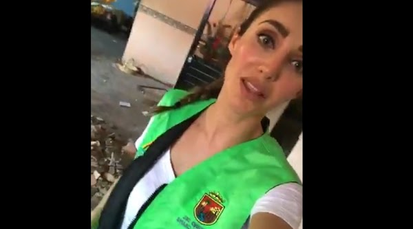 """Estoy """"muy despeinada, muy mal arreglada"""": Anahí pide ayuda para damnificados por el sismo"""