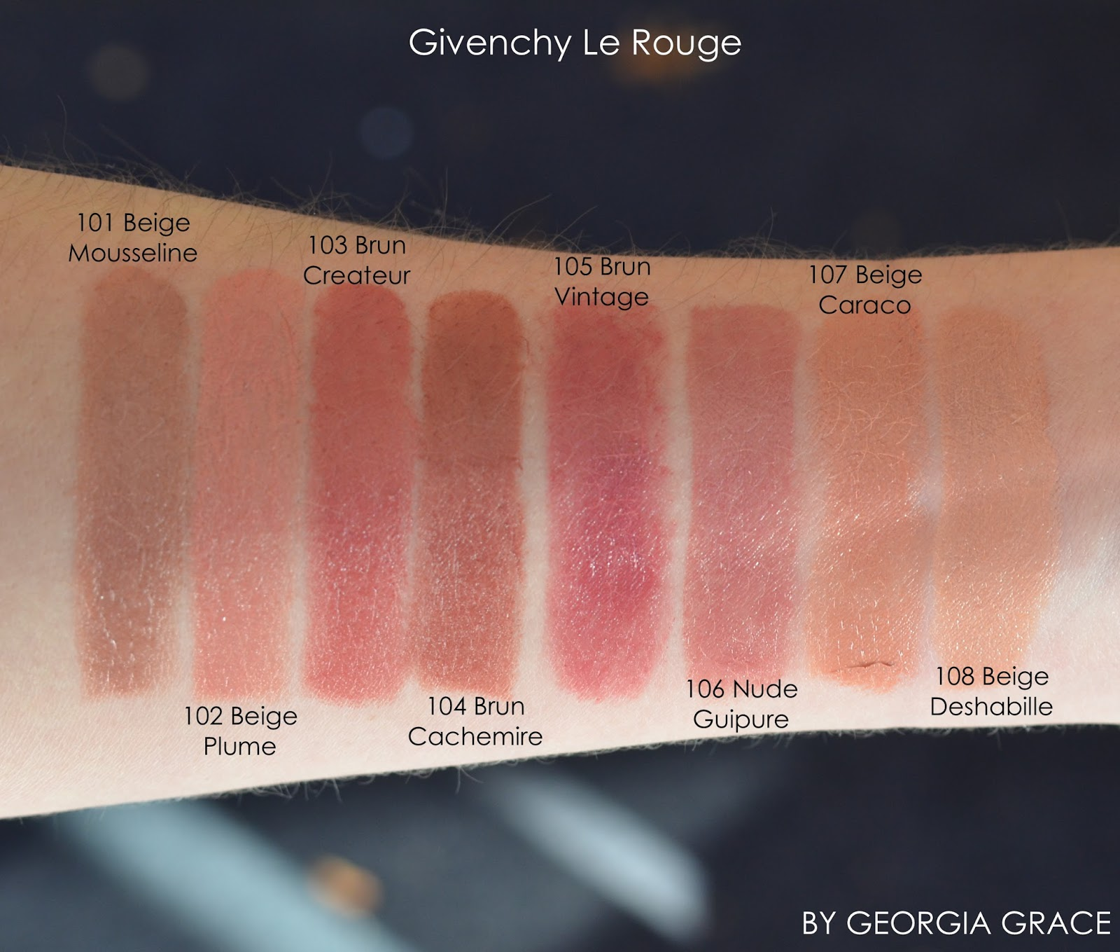 Givenchy Le Rouge By Georgia Grace