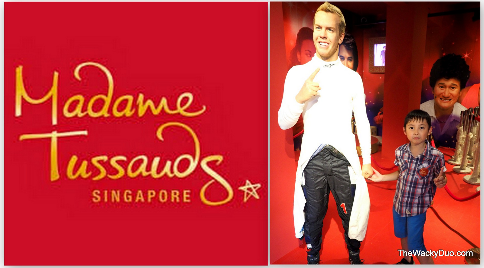 World Famous Car Wallpaper Madame Tussauds Singapore Comes Alive The Wacky Duo