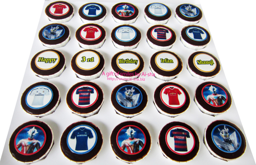 ULTRAMAN Birthday Cupcake