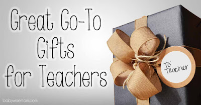 Great Go-To Gifts for Teachers