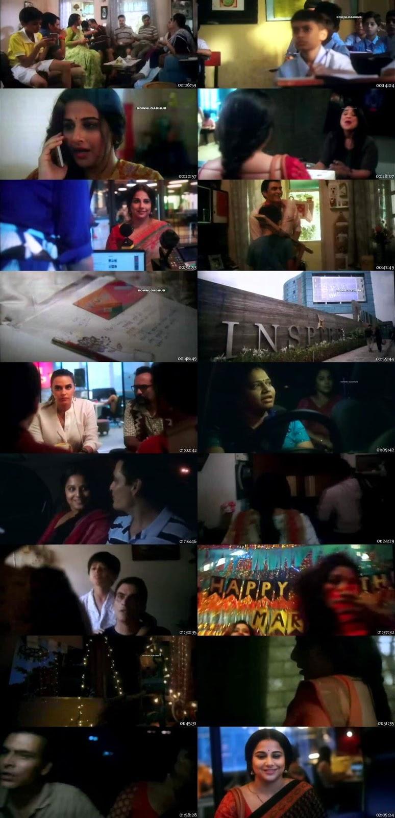 Tumhari Sulu 2017 Hindi 1GBRip Pre-DVDRip x264