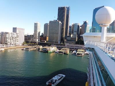 Transporte por balsas em Sidney