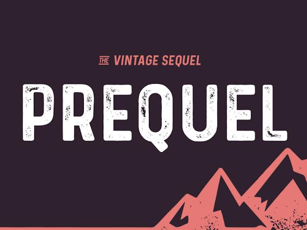 Download Prequel The Vintage Sequel Font Free