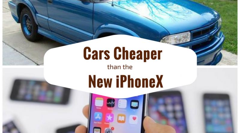 9 Cheap Cars Cost Less Than an iPhone X